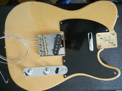 Fender Telecaster Butterscotch 52 R/I 1989 Complete Body Only Needs Neck Nice!!!