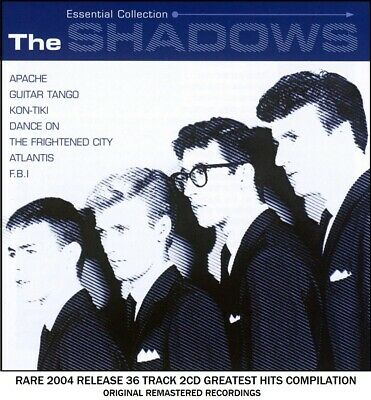The Shadows Ultimate Greatest Hits Collection RARE 2CD Hank Marvin Guitar 60's