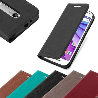 Case for Motorola MOTO G3 Phone Cover Protective Book Magnetic Wallet