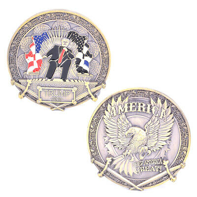 Donald Trump 2020 Commemorative Coin King's return Challenge Coin Collection~GN