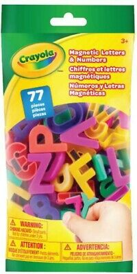 NEW Crayola 77Pcs Magnetic Letters & Numbers from Mr Toys