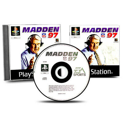 Playstation 1 - Ps1 Spiel Nfl Madden 97 - American Football in Ovp mit Anleitung