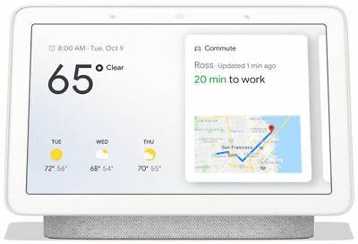 Google Home Hub - Chalk - Brand New