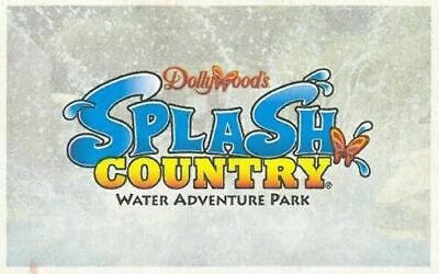 Two Dollywood Splash Coutry Tickets Valid Until 09/02/2019