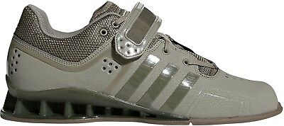 adidas Adipower Mens Weightlifting Shoes Green Bodybuilding Crossfit Gym Trainer