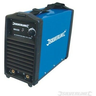 NEW 200amp Silverline Inverter Arc Welder 633822