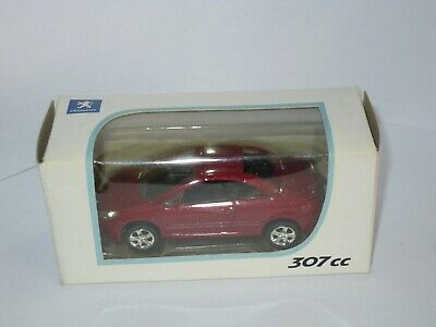 3 inches Norev Peugeot 307 CC Cabriolet Voiture miniature model car modellauto
