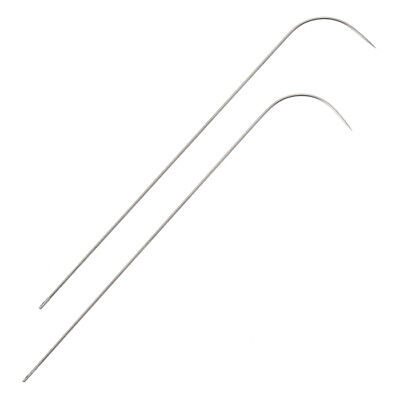 Seed Bead Spinner Curved Needles   Spin and String Pack of 2 [H105/1]