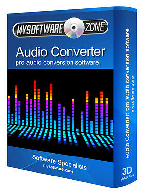 Audio Converter Pro Software / CD Ripper / Extract audio from Video Files