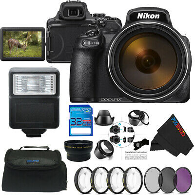 Nikon COOLPIX P1000 Digital Camera + Advanced Bundle