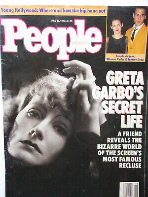 Greta Garbo People Magazine 1990