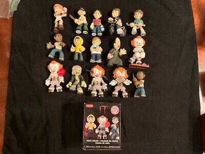 IT -Funko Mystery Minis - PENNYWISE IT - WALGREENS EXCLUSIVE COMPLETE SET Rare