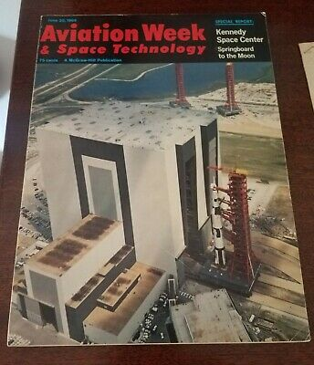Aviation Week & Space Technology, June 20 1966 Kennedy Space Center