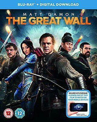 The Great Wall ( Bluy Ray + Digital Download ( Brand New & Sealed )