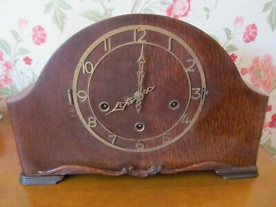 Mantel Napoleon Hat Mantel Clock by smiths enfield with Westminster chimes
