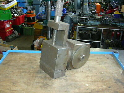 Manually Operated Tilting Vice 0-90 degrees Adjustable Milling Clamp