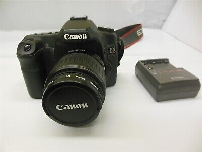 Canon EOS 40D 10.1MP DSLR with Canon EF-S 18-55mm Lens Free Shipping #12703R