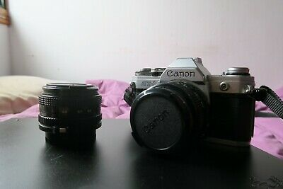 Canon AT-1 + 50mm 1:1.8 + 35mm 1:2.8