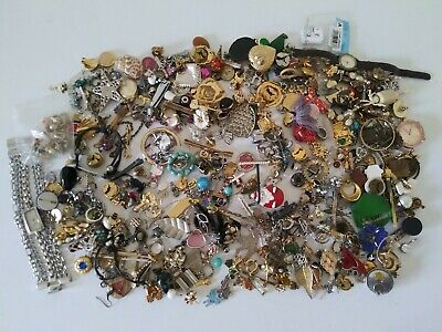 "Junk Drawer Lot ""Big"" 4.0 Pounds Unique Items Vintage To Moderm"