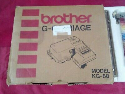 brother garter carriage,kg88, tested and in good working order