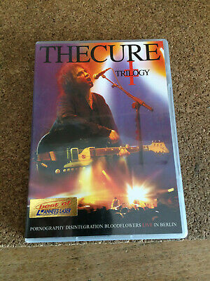 THE CURE TRILOGY-LIVE IN BERLIN Pornography desintegration bloodflowers  2 DVD