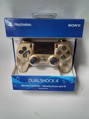 PS4 DualShock 4 Gold Wireless Controller - Brand New Authentic Official Sony