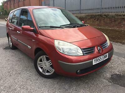 55 Renault Grand Scenic 2.0 VVT 136 Automatic Privilege 7 Seater £995 p/x cards