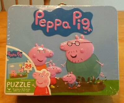 Peppa Pig Puzzle in Tin PeppaPig