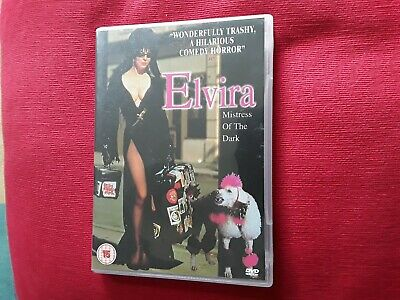 Elvira  Mistress Of The Dark  Dvd.