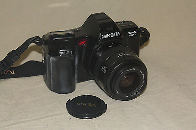 MINOLTA MAXXUM 7000i 35mm FILM CAMERA WITH 35-70mm LENS 7574
