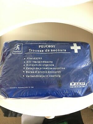 Genuine Peugeot First Aid Kit P/N 9652YP