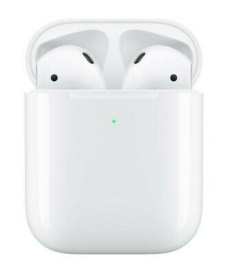 Apple AirPods 2 2nd Generation w/ Wireless Charging Case - MRXJ2AM/A New Sealed