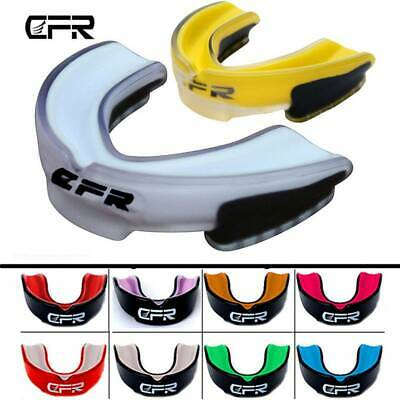 Gel Gum Shield Mouth Guard Kids Junior MMA Impact Boxing Rugby Teeth Protect IA