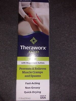 Theraworx Relief Foam Muscle Cramp and Spasm Relief - 7.1 oz/ 210 ml