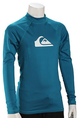 Hurley Boy/'s One and Only SS Rash Guard New Squadron Blue