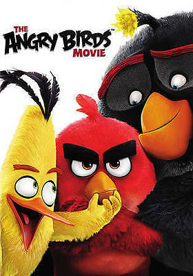 The Angry Birds Movie DVD, 2016 New, Sealed