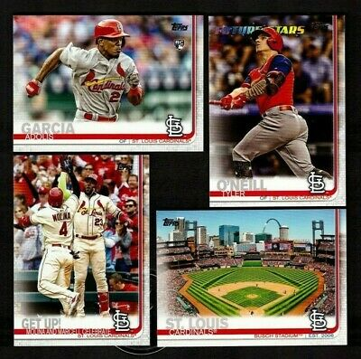 2019 Topps Baseball St Louis Cardinals Series 1 2