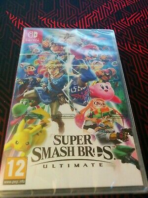 SUPER SMASH BROS ULTIMATE - Nintendo Switch Game -Brand New Sealed