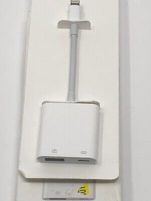 Genuine Apple Lightning to USB 3 Camera Adapter (MK0W2AMA) OEM ~OPEN BOX~ A1619