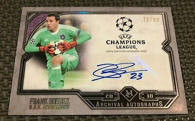 LIMITED EDITIONS choose Card//Carte Choisir Topps Now Ligue des Champions 18//19