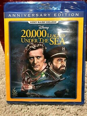 Disney 20,000 Leagues Under the Sea Blu-ray NEW, SEALED-IN HAND & Ships ASAP DMC