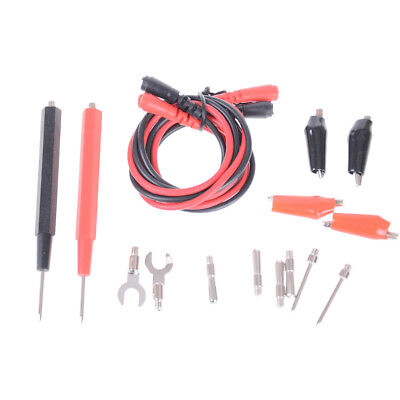 16Pcs  Multifunction Digital Universal Test Lead Probe Cable For Multimeter FE