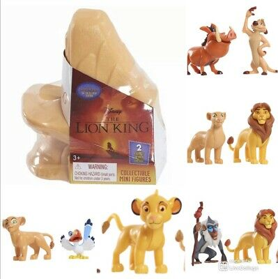 2019 The Lion King Mini Figures CHOOSE YOUR OWN or complete SET! Ships now!