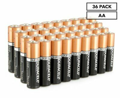 Duracell AA Batteries 36-Pack