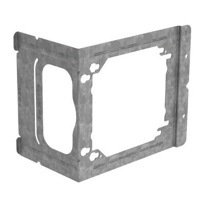 """Caddy C23 Bracket 100/pkg 4"""" and 4-11/16"""" Outlet Box to 2-1/2"""" or 3-5/8"""" Meta"""