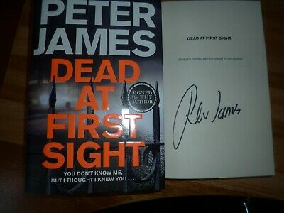 Peter James Dead At First Sight.signed Limiited Edition Hardbadk