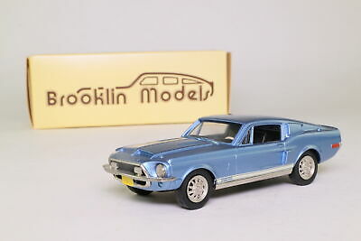 Brooklin BRK24; 1968 Ford Shelby Mustang GT 500; Acapulco Blue; Excellent Boxed