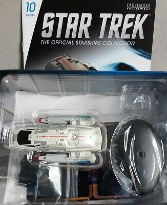Star Trek Type-11 shuttle #10 from the U.S.S. Enterprise NCC-1701-E Eaglemoss en
