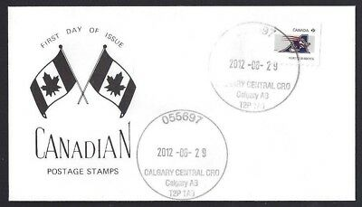 Canada  # 2566  C.F.L. Montreal Alouettes Special Cachet   New 2012 Unaddressed