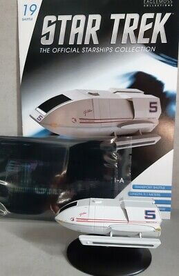 Star Trek Galileo Shuttlecraft #19 from the U.S.S. Enterprise NCC-1401-A Eaglemo